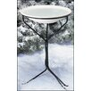 """Allied Precision Industries 20"""" Heated Bird Bath with Metal Stand"""