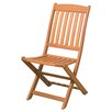 <strong>Arboria</strong> Kapur Spontaniety Folding Dining Side Chair