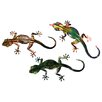 <strong>Next Innovations</strong> 3 Piece Refraxions Gecko 3D Wall Décor Set
