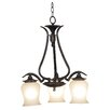 <strong>Wildon Home ®</strong> Bienville 3 Light Mini Chandelier