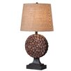 "Wildon Home ® Knot 28"" H Table Lamp with Empire Shade"