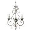 <strong>Wildon Home ®</strong> Antoinette 3  Light Chandelier