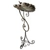 Gardman Ornate Leaf Pedestal Bird Bath