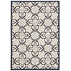 Nourison Carribean Ivory/Navy Area Rug