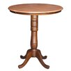 <strong>Round Pedestal Table</strong> by International Concepts