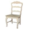 International Concepts Versailles Side Chair with Rush Seat (Set of 2)