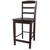 "Madrid 24"" Counter Height Stool in Java"