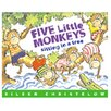 <strong>5 Little Monkeys Sitting In A Tree</strong> by Houghton Mifflin
