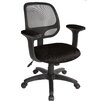 "Comfort Products Breezer 17.75"" Mesh Task Chair with Arms"