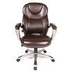 <strong>Granton High-Back Leather Executive Chair</strong> by Comfort Products