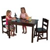 <strong>Kids 3 Piece Table & Chair Set III</strong> by KidKraft