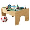 <strong>2-in-1 Lego and Train Activity Table</strong> by KidKraft