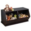 <strong>Double Storage Unit in Espresso</strong> by KidKraft