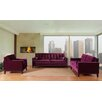 <strong>Centennial Velvet Living Room Collection</strong> by Armen Living