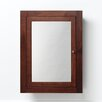 "Ronbow 24"" x 32"" Solid Wood Framed Medicine Cabinet in American Walnut"