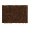 Pam Grace Creations Oh So Shaggy Chocolate Truffle Indoor/Outdoor Rug