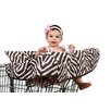 <strong>Pam Grace Creations</strong> Zara Zebra Grocery Cart Cover