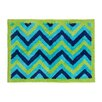 <strong>Pam Grace Creations</strong> ZigZag Elephant Kids Rug