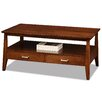 <strong>Delton 2 Drawer Coffee Table</strong> by Leick Furniture