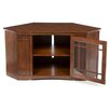 "<strong>46"" Corner Plasma TV Stand in Mission Oak</strong> by Leick Furniture"