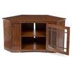 "Leick Furniture 46"" Corner Plasma TV Stand"