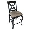 <strong>Carolina Accents</strong> English Bar Stool with Cushion (Set of 2)