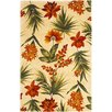 KAS Oriental Rugs Catalina Ivory Tropical Flora Rug