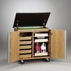 <strong>Diversified Woodcrafts</strong> Write-N-Roll Mobile Storage Cabinet