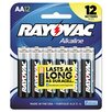 <strong>Rayovac</strong> Alkaline AA Battery (12 Pack)