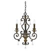<strong>Quoizel</strong> Marquette 3 Up Light Chandelier