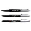 <strong>Grip Porous Point Stick Permanent Water Resistant Pen, 3/Pack</strong> by Sharpie®