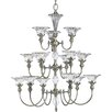 <strong>Progress Lighting</strong> Thomasville Roxbury 15 Light Chandelier