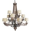 <strong>Thomasville Meeting Street 12 Light Chandelier</strong> by Progress Lighting