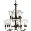 <strong>Progress Lighting</strong> Fiorentino 12 Light Chandelier