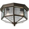 Progress Lighting Octagonal Flush Mount