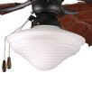 Progress Lighting One Light Indoor or Outdoor Ceiling Fan Light Kit