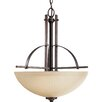 <strong>Riverside 3 Light Hall and Foyer Inverted Pendant</strong> by Progress Lighting