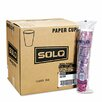 <strong>Solo Cups</strong> Company Bistro Design Hot Drink Cups, 20 Bags of 50/Carton