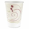 Company Symphony Design Hot Cups, 12 Oz., 50/Pack