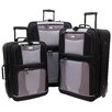 <strong>Geoffrey Beene</strong> Carnegie 3 Piece Luggage Set