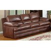 <strong>Baron Leather Sofa</strong> by Leather Italia U.S.A.