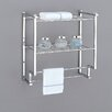 "OIA Metro 18.2"" Wall Mounting Rack with Towel Bars"