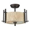 Hinkley Lighting Sloan 2 Light Semi Flush Mount