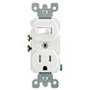 <strong>Toggle Switch and Receptacle Combination</strong> by Leviton