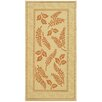 <strong>Courtyard Natural/Terra Outdoor Rug</strong> by Safavieh