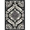 <strong>Safavieh</strong> Chelsea Black/Ivory Rug