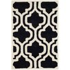 Safavieh Chatham Black / Ivory Moroccan Rug
