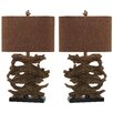 """Safavieh Forester 26.5"""" H Table Lamp with Rectangular Shade (Set of 2)"""