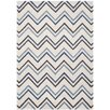 Safavieh Cambridge Ivory / Blue Chevron Area Rug
