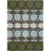<strong>Cedar Brook Green / Teal Contemporary Rug</strong> by Safavieh